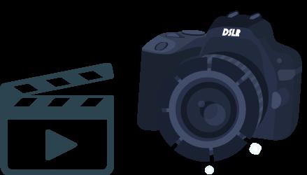 Symbol Video & Fotografie